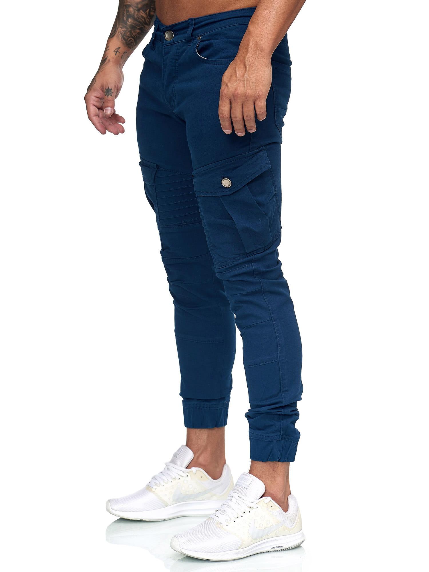 Herren Chino Hose Jeans Designer Chinohose Slim Fit Männer Skinny 1923ST