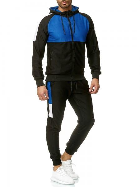 Herren Jogginganzug Trainingsanzug Sportanzug Fitness Streetwear A04C