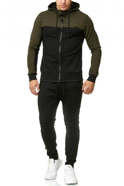 Herren Jogginganzug Trainingsanzug Sportanzug Fitness Streetwear 136C